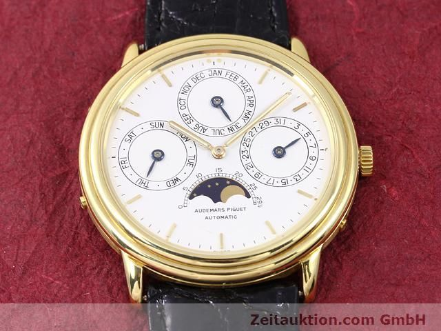 Used luxury watch Audemars Piguet Ewiger Kalender 18 ct gold automatic Kal. 2120/1 Ref. B56041  | 141025 15