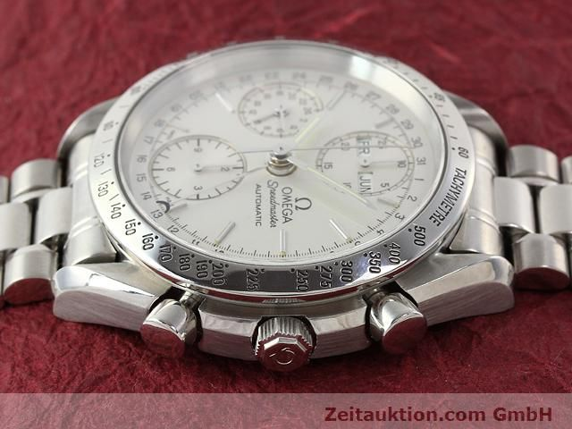 Used luxury watch Omega Speedmaster steel automatic Kal. 1150  | 141027 05
