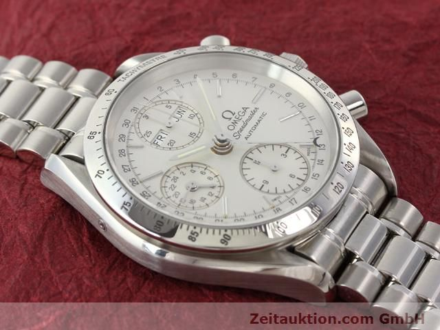 Used luxury watch Omega Speedmaster steel automatic Kal. 1150  | 141027 13