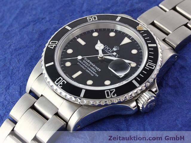 Used luxury watch Rolex Submariner steel automatic Kal. 3035 Ref. 16800  | 141030 01