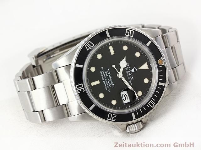 Used luxury watch Rolex Submariner steel automatic Kal. 3035 Ref. 16800  | 141030 03