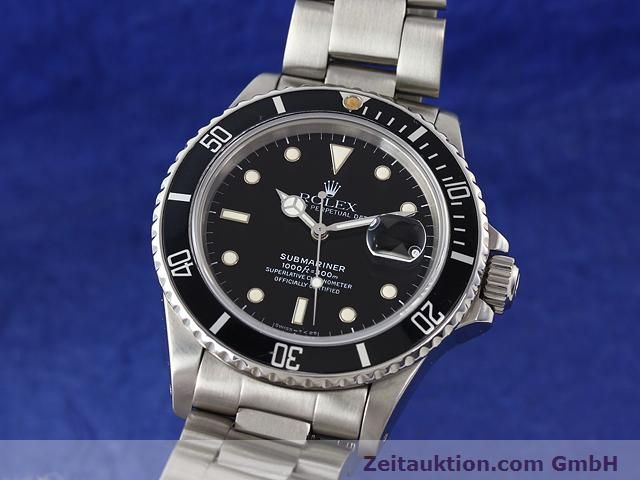 Used luxury watch Rolex Submariner steel automatic Kal. 3035 Ref. 16800  | 141030 04