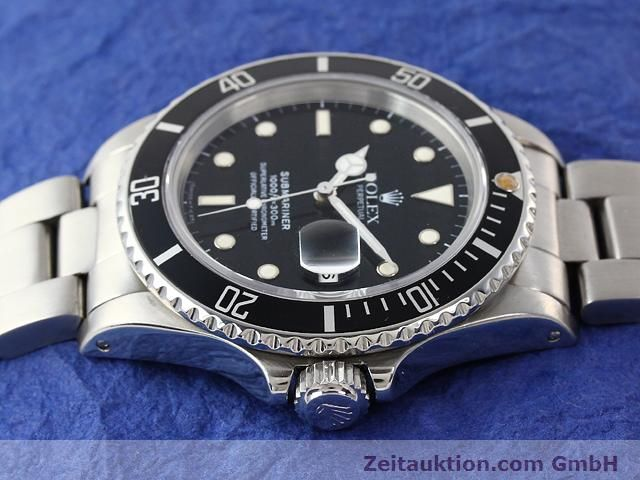Used luxury watch Rolex Submariner steel automatic Kal. 3035 Ref. 16800  | 141030 05