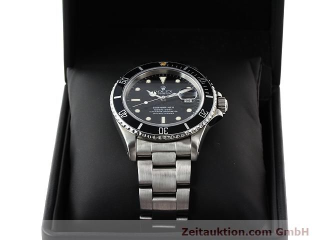 Used luxury watch Rolex Submariner steel automatic Kal. 3035 Ref. 16800  | 141030 07