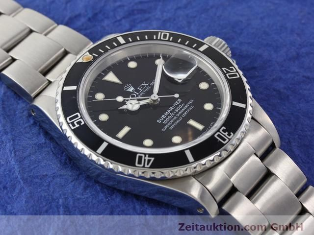 Used luxury watch Rolex Submariner steel automatic Kal. 3035 Ref. 16800  | 141030 14
