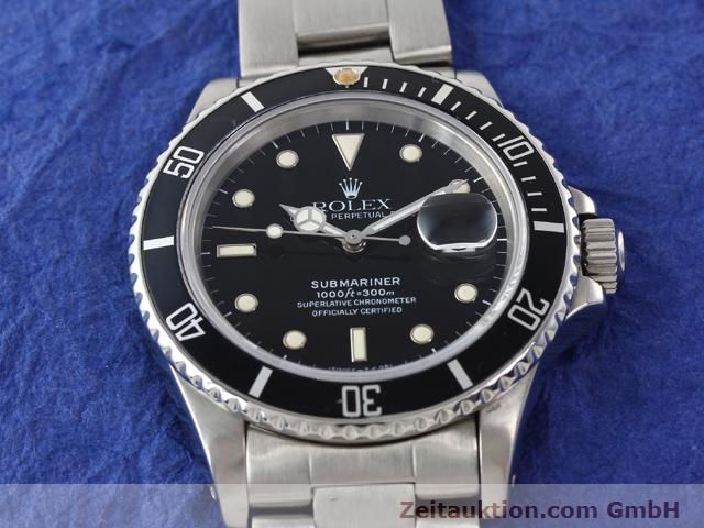 Used luxury watch Rolex Submariner steel automatic Kal. 3035 Ref. 16800  | 141030 15