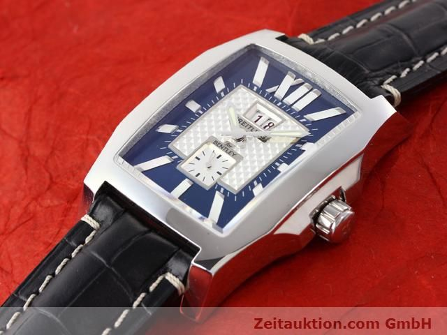 Used luxury watch Breitling Bentley steel automatic Kal. ETA 2892A2 Ref. A16362  | 141031 01