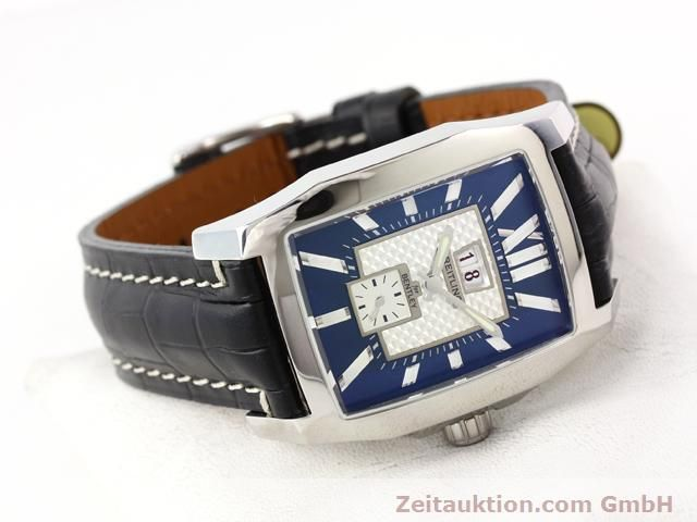 Used luxury watch Breitling Bentley steel automatic Kal. ETA 2892A2 Ref. A16362  | 141031 03