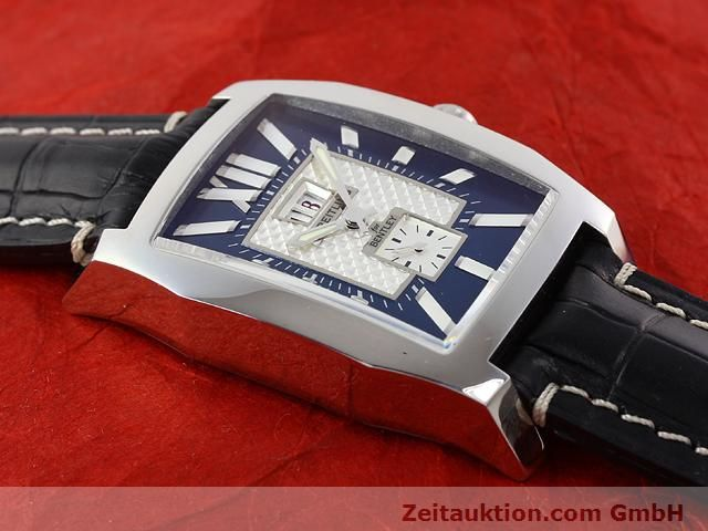 Used luxury watch Breitling Bentley steel automatic Kal. ETA 2892A2 Ref. A16362  | 141031 12