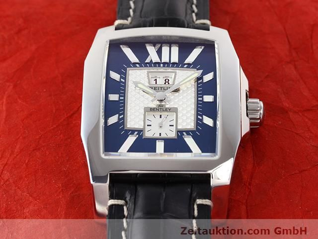 Used luxury watch Breitling Bentley steel automatic Kal. ETA 2892A2 Ref. A16362  | 141031 13