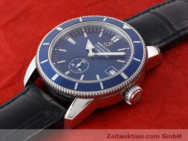 Used luxury watch Breitling Superocean steel automatic Kal. ETA 2895-2 Ref. A37320  | 141039 01