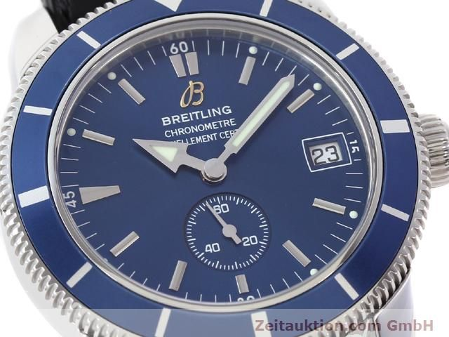 Used luxury watch Breitling Superocean steel automatic Kal. ETA 2895-2 Ref. A37320  | 141039 02