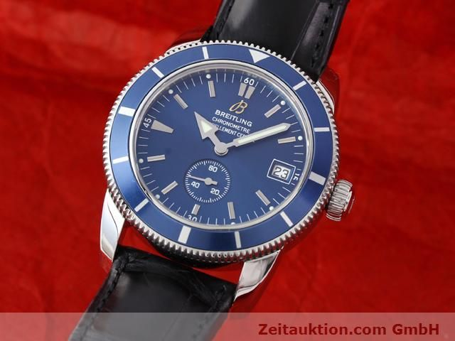 Used luxury watch Breitling Superocean steel automatic Kal. ETA 2895-2 Ref. A37320  | 141039 04
