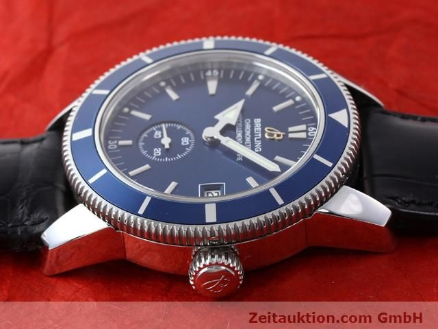 Used luxury watch Breitling Superocean steel automatic Kal. ETA 2895-2 Ref. A37320  | 141039 05