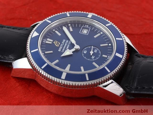 Used luxury watch Breitling Superocean steel automatic Kal. ETA 2895-2 Ref. A37320  | 141039 16