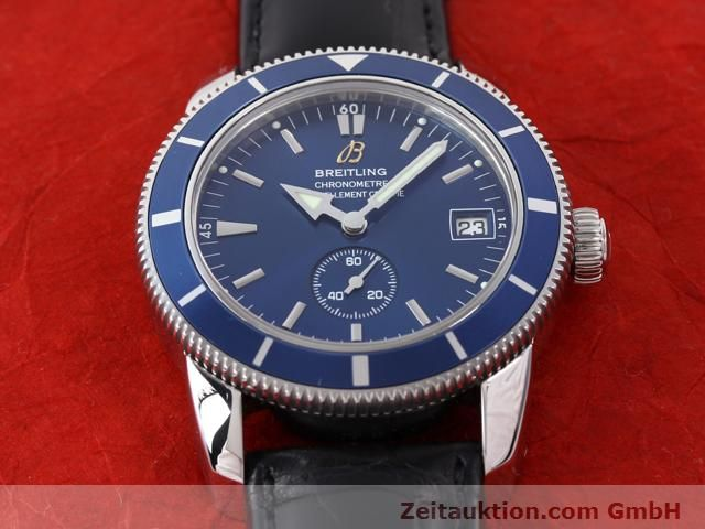 Used luxury watch Breitling Superocean steel automatic Kal. ETA 2895-2 Ref. A37320  | 141039 17