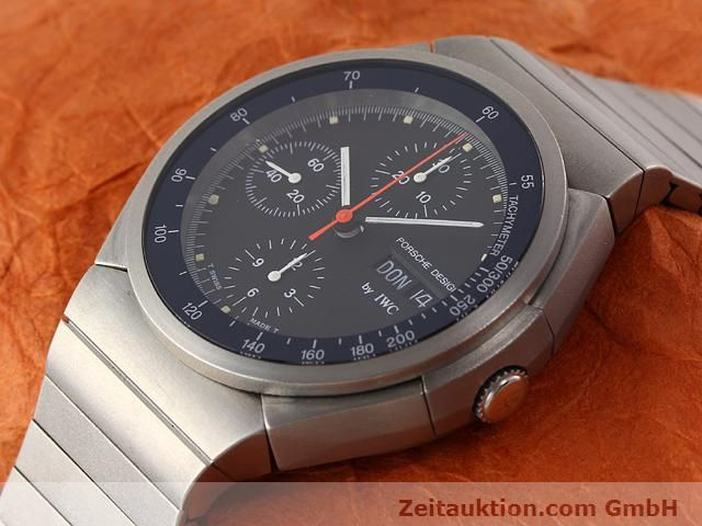Used luxury watch IWC Porsche Design titanium automatic Kal. C.790 Ref. 3702  | 141040 01