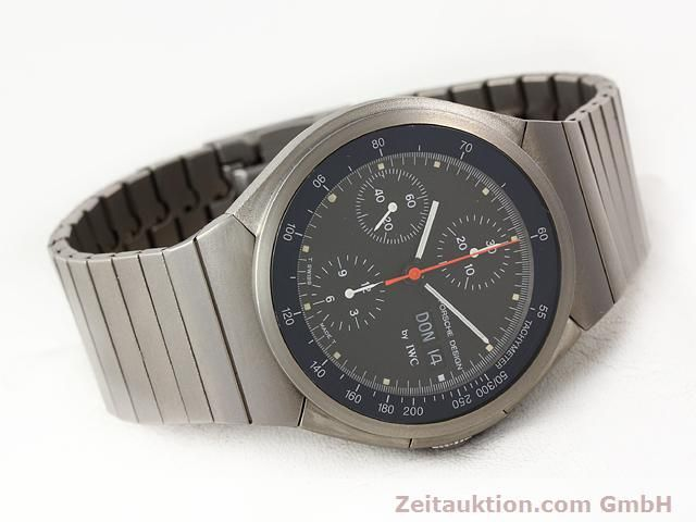 Used luxury watch IWC Porsche Design titanium automatic Kal. C.790 Ref. 3702  | 141040 03