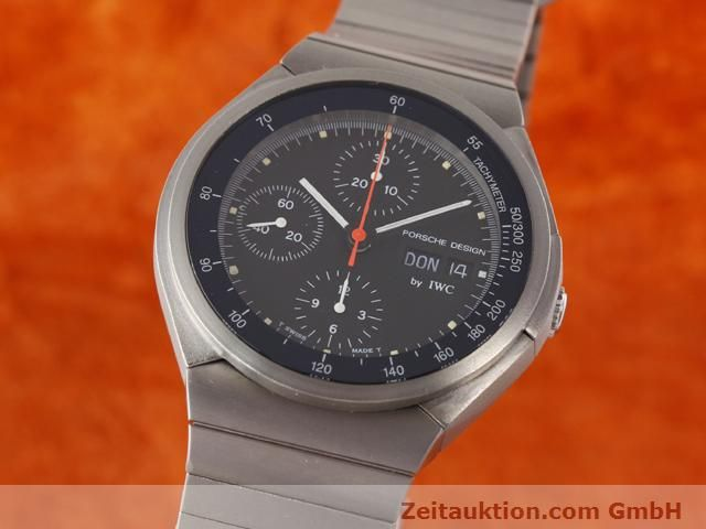 Used luxury watch IWC Porsche Design titanium automatic Kal. C.790 Ref. 3702  | 141040 04