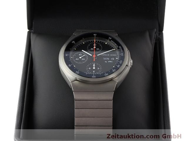 Used luxury watch IWC Porsche Design titanium automatic Kal. C.790 Ref. 3702  | 141040 07
