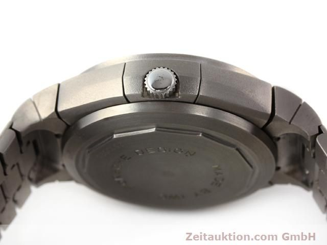 Used luxury watch IWC Porsche Design titanium automatic Kal. C.790 Ref. 3702  | 141040 08