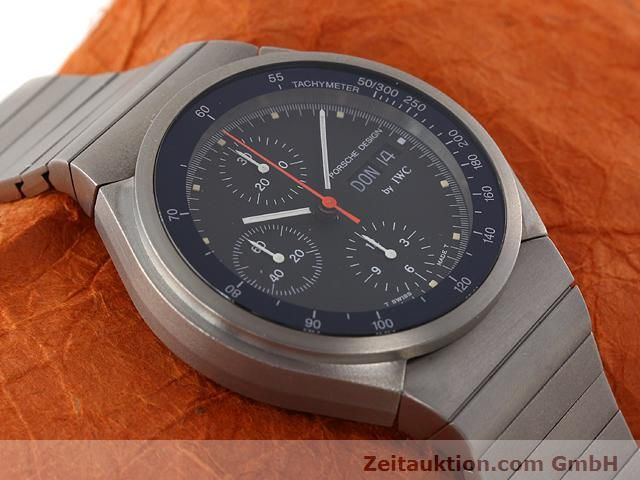 Used luxury watch IWC Porsche Design titanium automatic Kal. C.790 Ref. 3702  | 141040 12