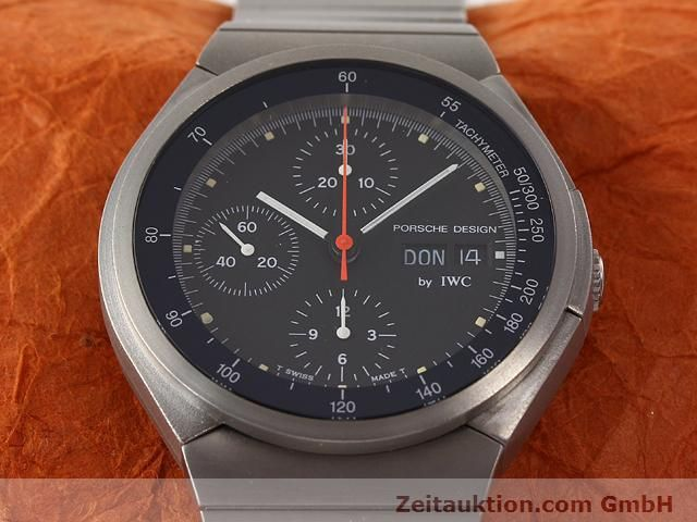 Used luxury watch IWC Porsche Design titanium automatic Kal. C.790 Ref. 3702  | 141040 13