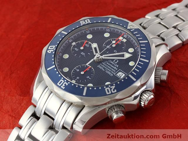 Used luxury watch Omega Seamaster steel automatic Kal. 1164  | 141041 01