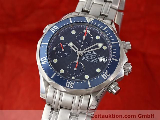Used luxury watch Omega Seamaster steel automatic Kal. 1164  | 141041 04