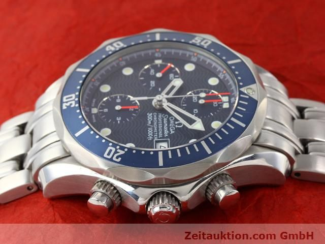 Used luxury watch Omega Seamaster steel automatic Kal. 1164  | 141041 05