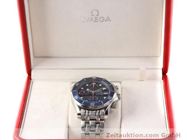 Used luxury watch Omega Seamaster steel automatic Kal. 1164  | 141041 07