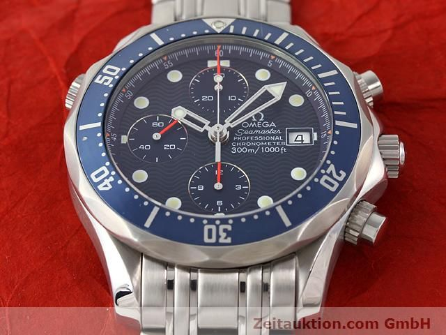 Used luxury watch Omega Seamaster steel automatic Kal. 1164  | 141041 17
