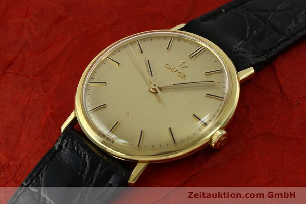 Used luxury watch Omega * 18 ct gold manual winding Kal. 601 Ref. 131016  | 141042 01