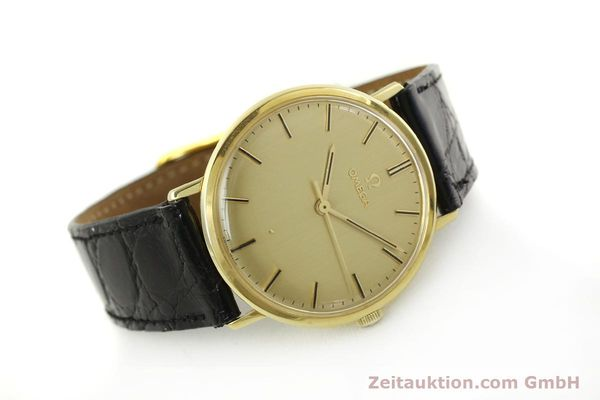 Used luxury watch Omega * 18 ct gold manual winding Kal. 601 Ref. 131016  | 141042 03
