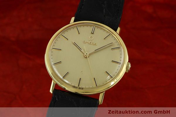 Used luxury watch Omega * 18 ct gold manual winding Kal. 601 Ref. 131016  | 141042 04
