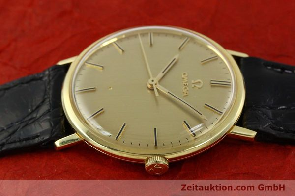 Used luxury watch Omega * 18 ct gold manual winding Kal. 601 Ref. 131016  | 141042 05