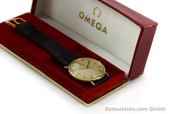 Used luxury watch Omega * 18 ct gold manual winding Kal. 601 Ref. 131016  | 141042 07