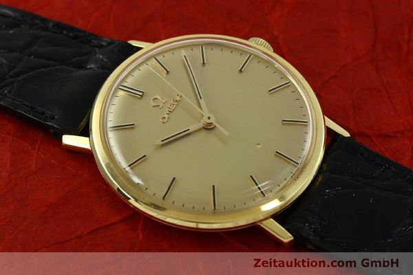 Used luxury watch Omega * 18 ct gold manual winding Kal. 601 Ref. 131016  | 141042 13