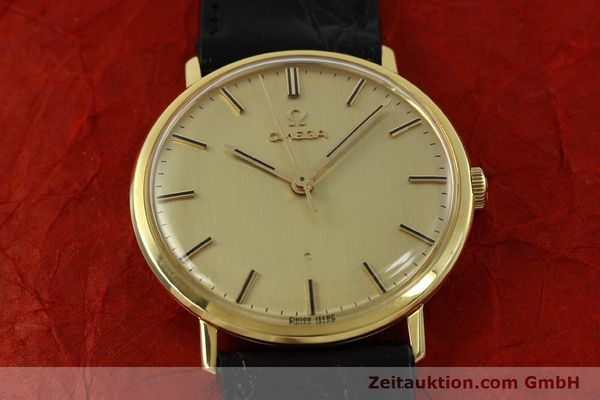 Used luxury watch Omega * 18 ct gold manual winding Kal. 601 Ref. 131016  | 141042 14