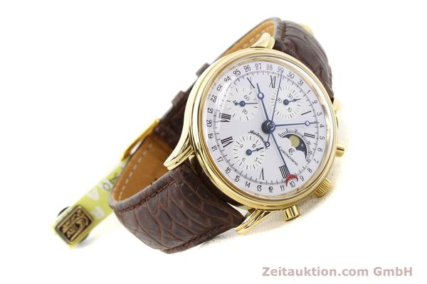 Used luxury watch Chronoswiss Lunar gold-plated automatic Kal. ETA 7750 Ref. 77990  | 141047 03
