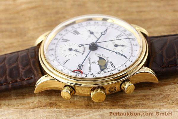 Used luxury watch Chronoswiss Lunar gold-plated automatic Kal. ETA 7750 Ref. 77990  | 141047 05