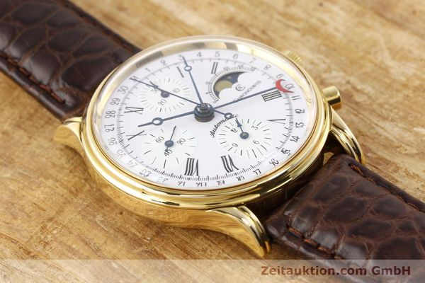 Used luxury watch Chronoswiss Lunar gold-plated automatic Kal. ETA 7750 Ref. 77990  | 141047 13