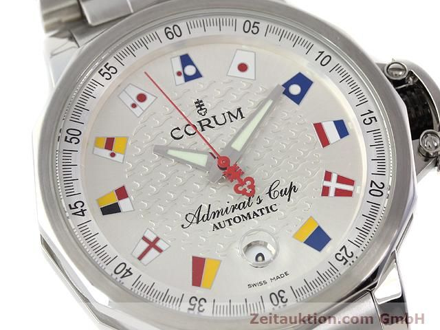 Used luxury watch Corum Admirals Cup steel automatic Kal. ETA 2892-2 Ref. 082.830.20  | 141050 02