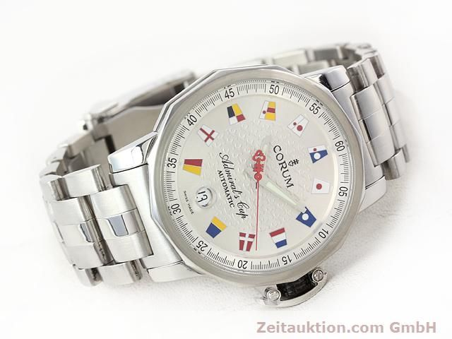Used luxury watch Corum Admirals Cup steel automatic Kal. ETA 2892-2 Ref. 082.830.20  | 141050 03