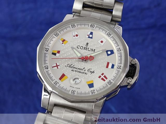 Used luxury watch Corum Admirals Cup steel automatic Kal. ETA 2892-2 Ref. 082.830.20  | 141050 04