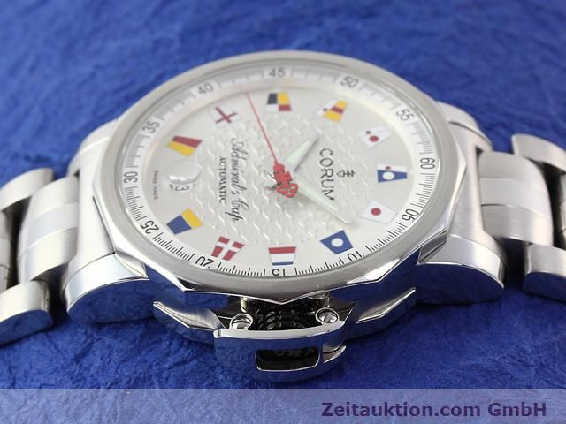 Used luxury watch Corum Admirals Cup steel automatic Kal. ETA 2892-2 Ref. 082.830.20  | 141050 05