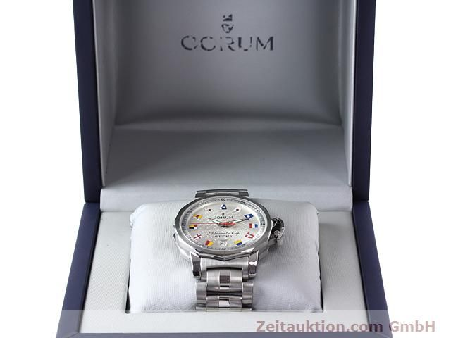 Used luxury watch Corum Admirals Cup steel automatic Kal. ETA 2892-2 Ref. 082.830.20  | 141050 07