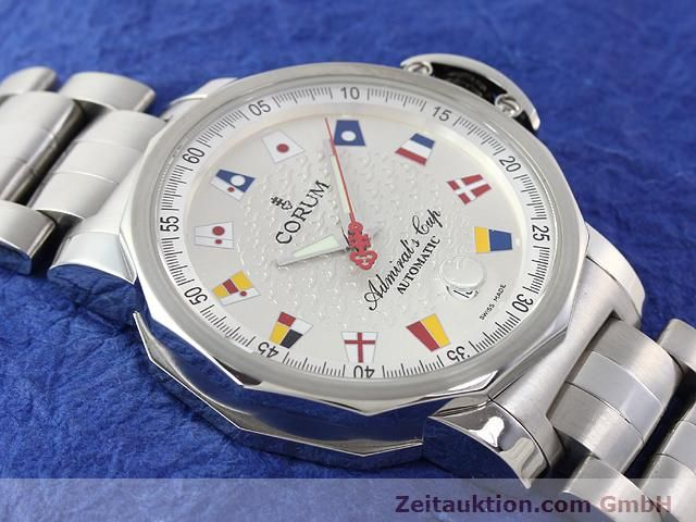 Used luxury watch Corum Admirals Cup steel automatic Kal. ETA 2892-2 Ref. 082.830.20  | 141050 13