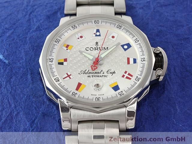 Used luxury watch Corum Admirals Cup steel automatic Kal. ETA 2892-2 Ref. 082.830.20  | 141050 14