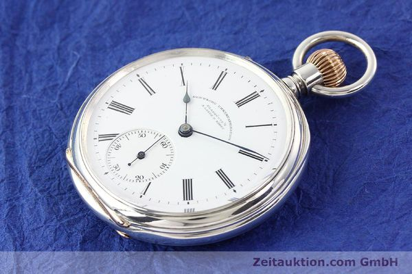 Used luxury watch A. Lange & Söhne ALS Taschenuhr silver manual winding  | 141051 01